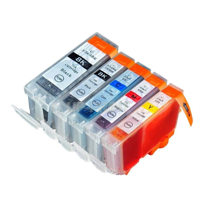 До 5 шт. BCI-3 BCI-6 совместимые картриджи для Canon PIXMA IP4000 IP5000 i860 MP870 MP710 MP780 MP760 MP750 принтер