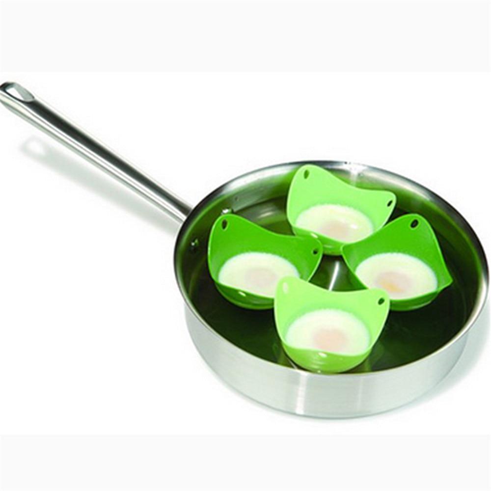 1 unidad de huevos para escalfar, cápsulas de cocina de silicona, utensilios de cocina, utensilios de cocina, molde para hornear, tazas y galletas