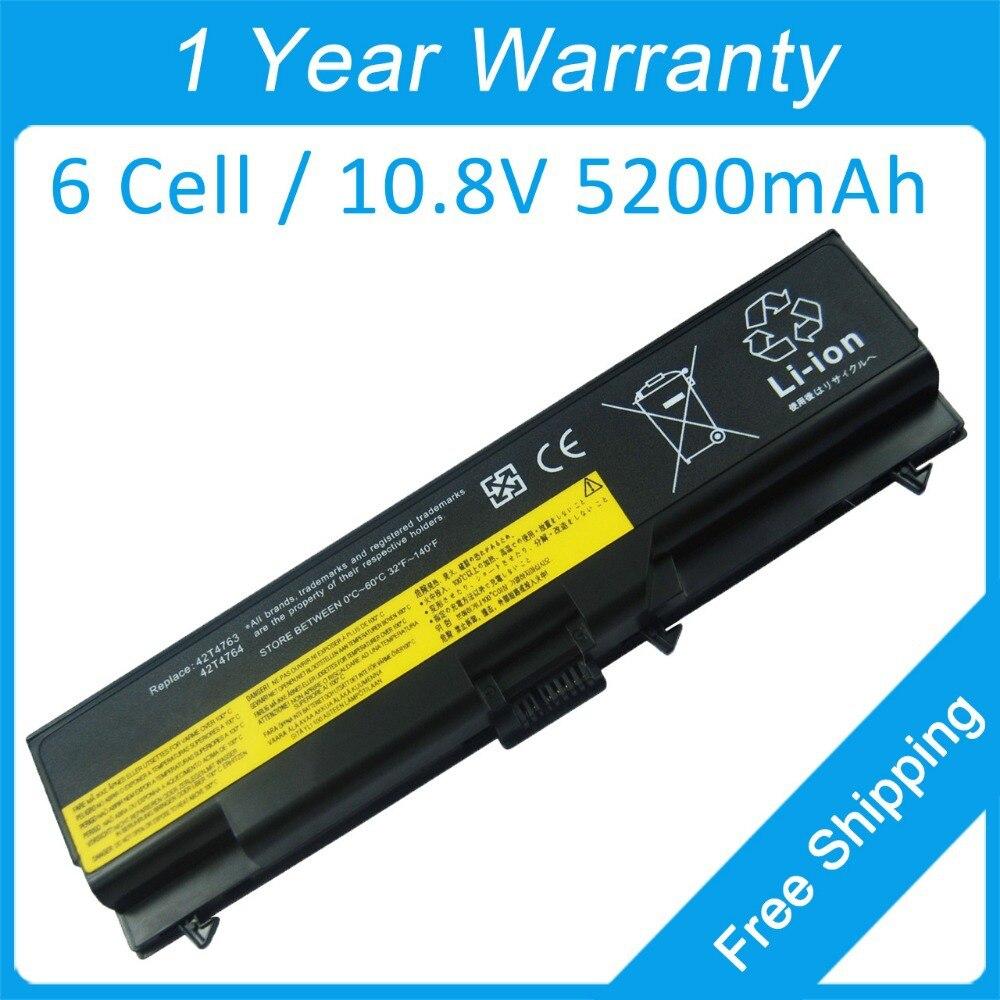New 6 cell laptop battery for IBM ThinkPad L421 L510 L512 L520 T410 L410 L412 T420 T510 T520 W510 42T4848 42T4849 42T4731