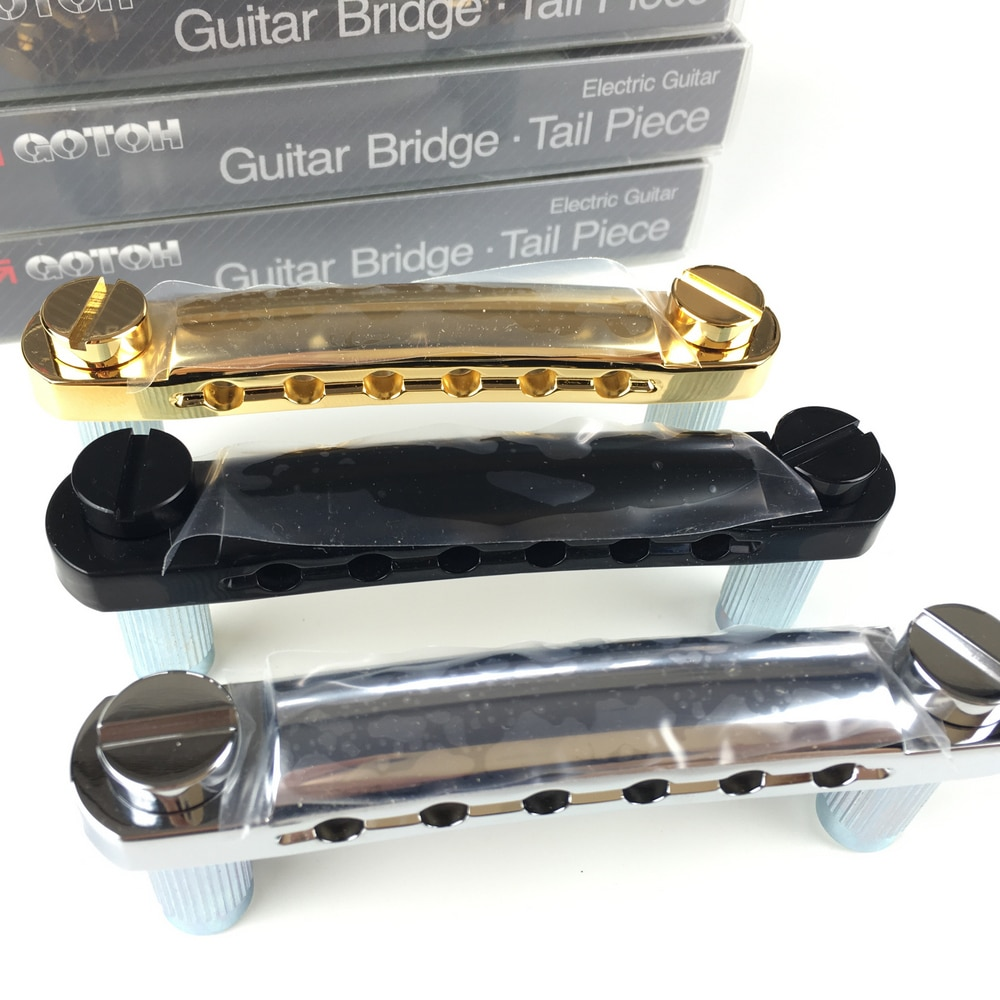 Original GOTOH GE101Z Tune-O-Matic Style Electric Guitar Bridge Tailpiece For LP SG DOT Custom MADE IN JAPAN