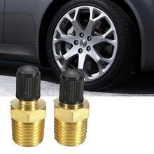 Robinet de remplissage de réservoir pour Dunlop Valve   2 pièces NPT MPT pneu en laiton, compresseur dair de pneu, accessoires de voiture universels
