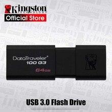 Kingston USB Flash Drives 64GB USB 3.0 DT100G3 Pen Drive high speed PenDrives 64gb cle usb stick