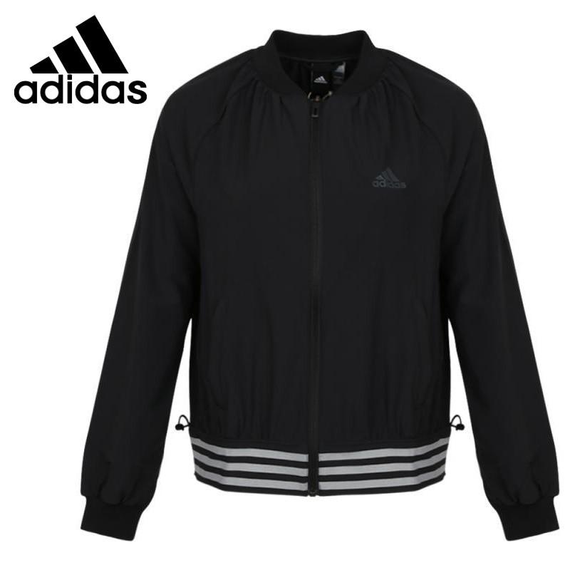 Nova chegada original adidas fem jkt wv jaqueta feminina esportiva