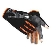 Gants de cyclisme en plein air à haute élasticité gants de vélo respirants avec gants de vélo unisexes antidérapants à écran tactile