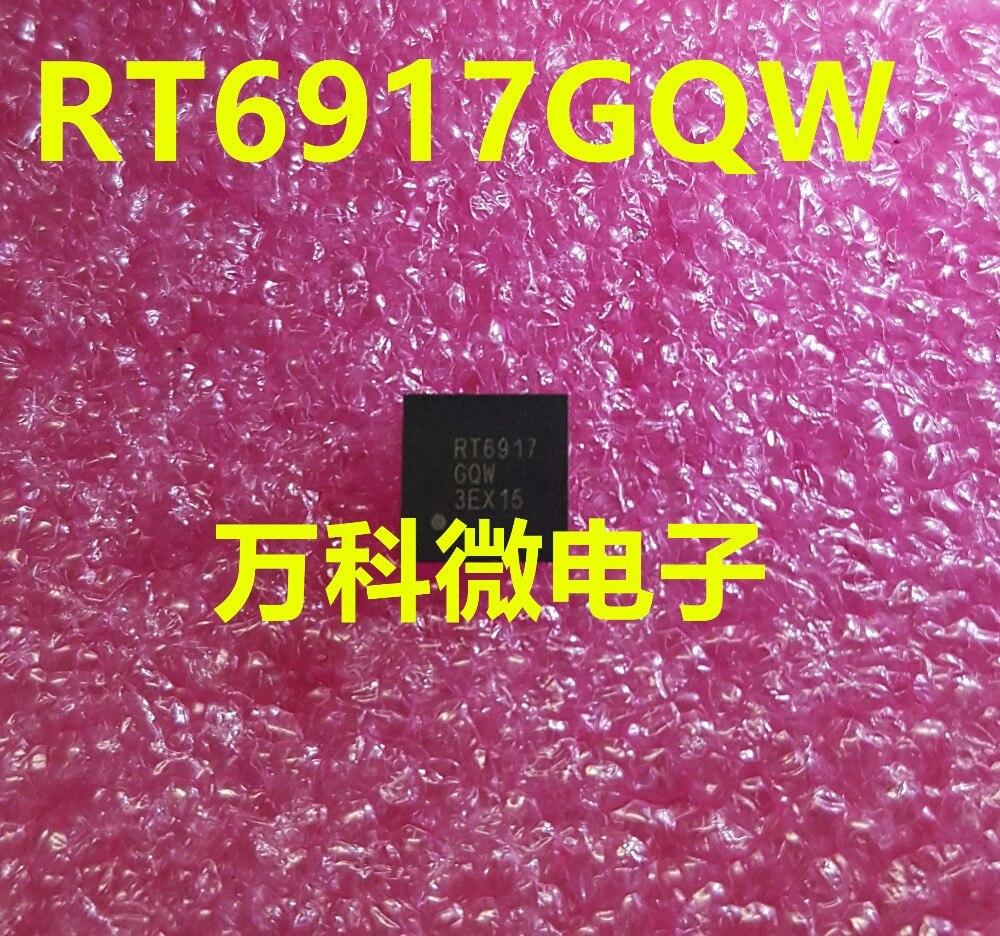 10PCS RT6917GQW RT6917 QFN48 100% Novo & original