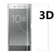 Für Sony Xperia XZ1 XZ2 Kompakte G8342 3D full Cover gehärtetes glas Displayschutzfolie für Sony Xperia XZ XZs Dual F8331