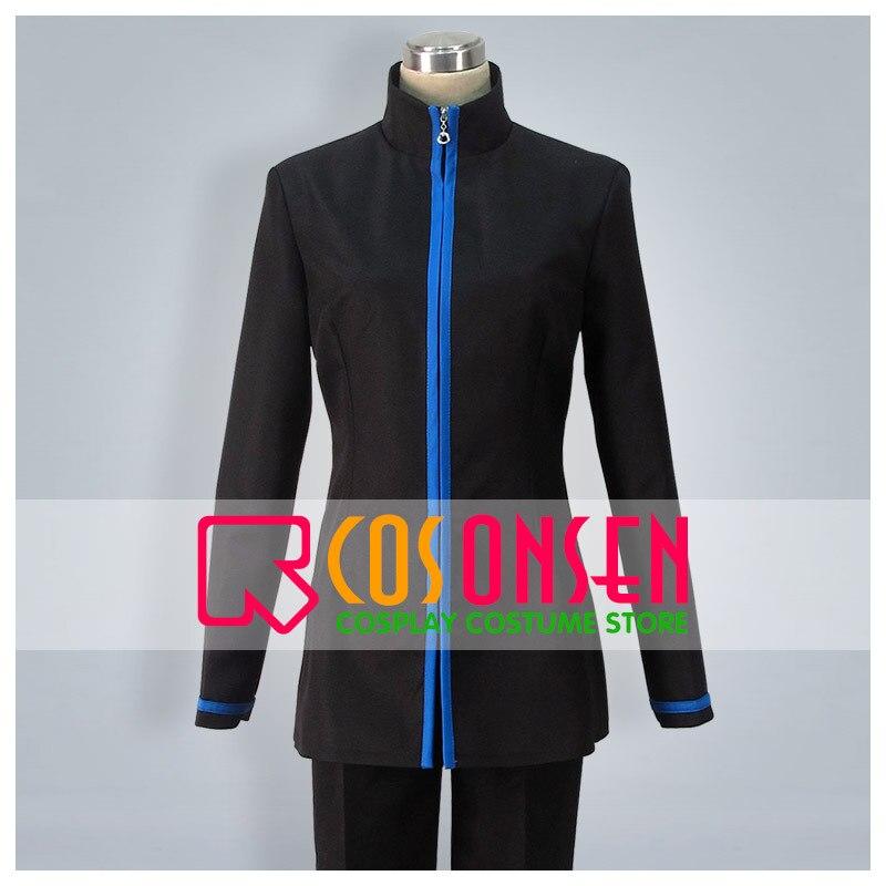 Cosplayonsen kuroko basquete seirin high school uniforme cosplay traje preto cor conjunto qualquer tamanho