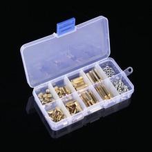 120Pcs/Set M3 Male Female Brass Standoff Spacer PCB Board Hex Screws Nut Assortment