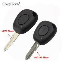 Transponder 1 Button Car Key Shell Fit For Renault Kangoo Trafic Laguna Megane Scenic 1 2 3 Espace Clio Scenic BN IR Remote Case