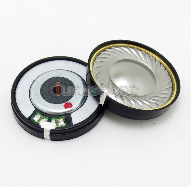 1 Par Dia 40mm Speaker 32Ohm LN004867 Unidade Para DIY V-moda fone de Ouvido Fone De Ouvido