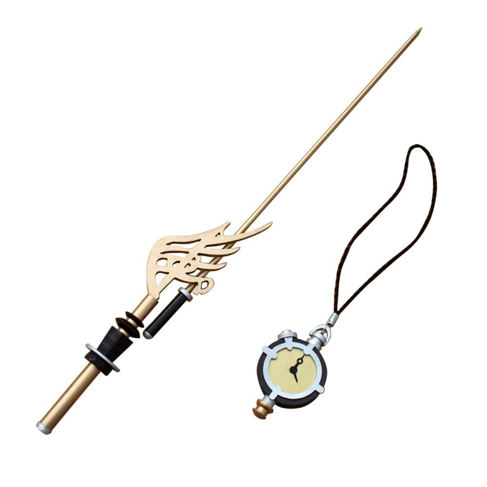 Reloj de bolsillo y espada con armas de Chopin de Cosplay de Trusty Bell