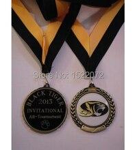 Médaille LOGO personnalisé de haute qualité   Prix bas, gravure de prix de léquipe grand médaillon, peinture personnalisée bon marché, médailles anciennes en or