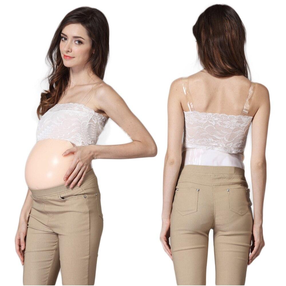 2500 г 7 ~ 8 месяцев поддельный беременный живот реалистичный тест на беременность силиконовый животик crossdressing фильм реквизит