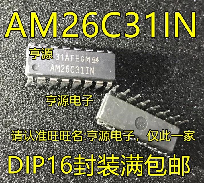 10 piezas AM26C31 AM26C31CN AM26C31IN DIP16