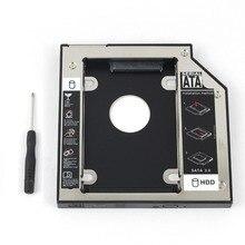 WZSM Nieuwe 2nd SATA HDD SSD Hard Drive Caddy 12.7mm voor HP Pavilion DV3 DV4 DV5 DV5Z DV5T DV6 DV7 DV8 HDX18 HDX16 TS-LB23L