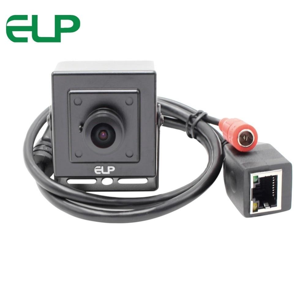 2MP 1920*1080P H.264 IMX322 Onvif P2P MINI video kamerası geniş açı 180 derece balıkgözü lens ATM kiosk mini ip kamera 1080p