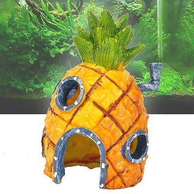 Fashion 14cm Aquarium Fish Tank Ornament Decoration Cartoon for lovely fish