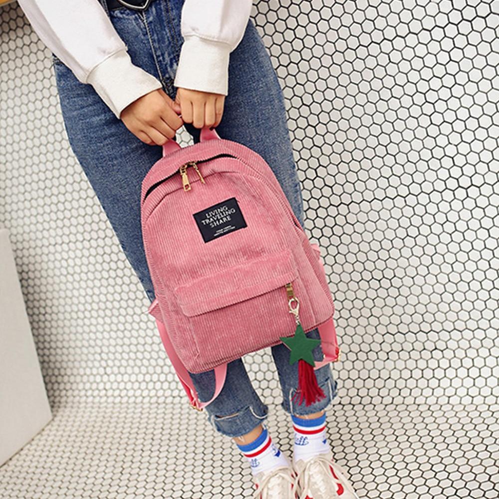 Maison Fabre frauen Mode Adrette Leinwand Quaste Schule Taschen Brief Zipper Solide Eimer Reise Weichen Rucksack Tasche