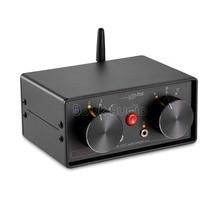 Little Bear 4-IN-3-OUT 3.5 millimetri RCA Audio Selettore Switcher Box Bluetooth 4.0 Ricevitore Splitter preamplificatore Per Home Audio