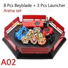 Livraison directe Beyblade Burst B139 jouets avec démarreur lanceur et arène Bayblade métal Fusion dieu toupies Bey lames jouet