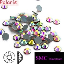 New SMC Grade AAAAA Crystal AB Hotfix Iron on Rhinestones Mainsize ss3 - ss34 for Professional Wholesale Buers