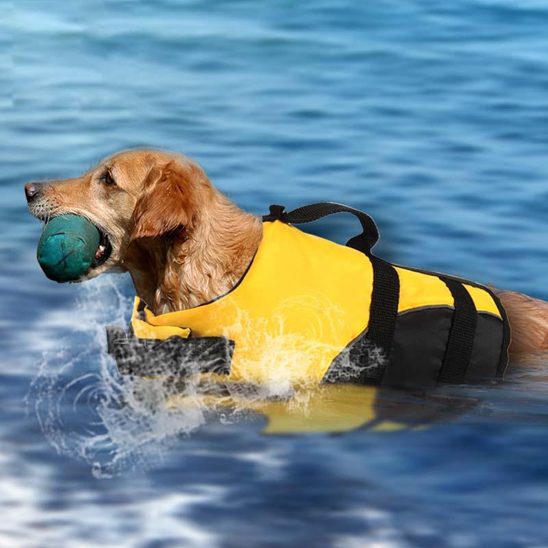 Chaleco Salvavidas reflectante para perros, chaqueta Salvavidas para mascota de verano, ropa de seguridad para perros, traje de baño para perros, traje de baño de seguridad para mascotas, Chaleco Salvavidas