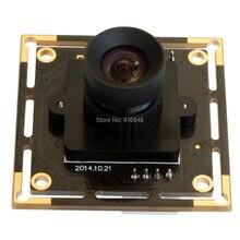 Módulo de cámara USB industrial 592X1944 5 megapíxeles Aptina MI5100 CMOS cámara USB sin distorsión para Windows Android Linux mac
