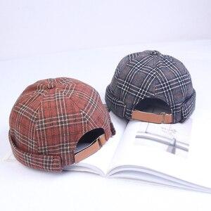 Хлопковая шапка в стиле ретро, шапка, регулируемые шапки, головной убор, владелец, дышащая шапка, Матросская шапка, Ретро Хип-Хоп Мужская шапка DZM03