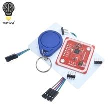 1 ensemble PN532 NFC RFID Module sans fil V3 Kits utilisateur lecteur Mode écrivain IC S50 carte PCB Attenna I2C IIC SPI HSU pour Arduino WAVGAT