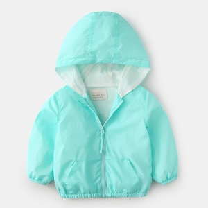 2018 boys girls brand Windbreaker Pizex spring fashion zipper Loose coat sports kid top toddler baby chileren clothing 2-7T year