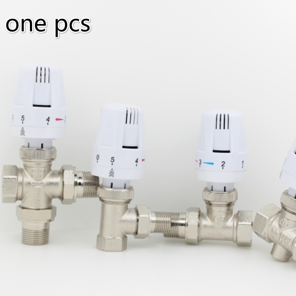 Thermostat kühler control thermostatventil messing ventil heizkörperthermostatkopf DN15 DN20 DN25