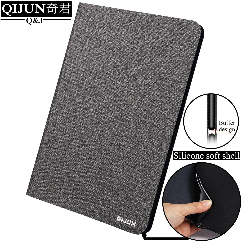 Qejun-carcasa para tableta con tapa, para Apple iPad Mini 2019, 7,9