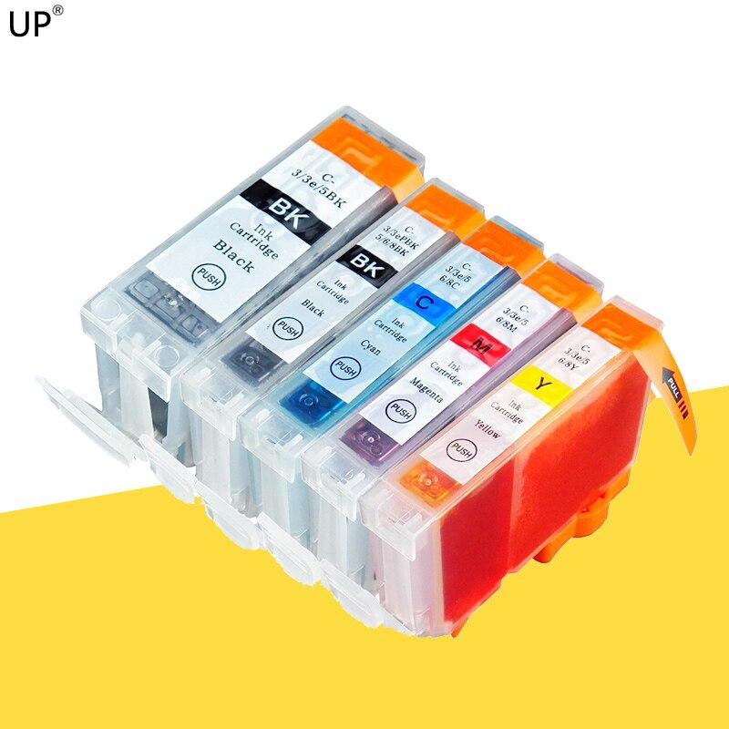 Cartucho de tinta para impresión para CANON PIXMA IP4000 IP5000 i860 MP870 MP710 MP780 MP760 MP750 impresora BCI-3 CLI-6 BCI3 CLI6