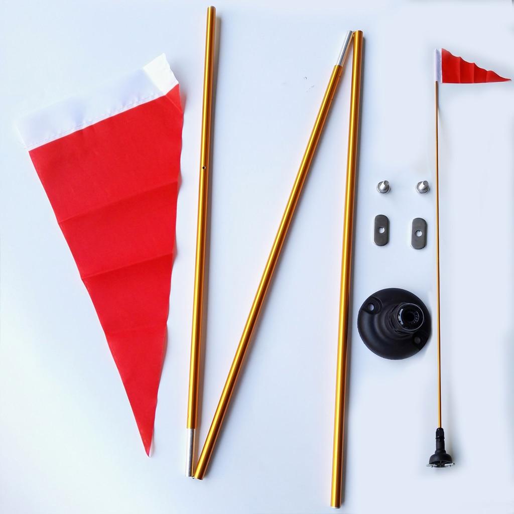 "Kayak seguridad bandera Kit de montaje Universal accesorios 47 ""Universal riel de montaje base para inflable barco canoa yate bote"