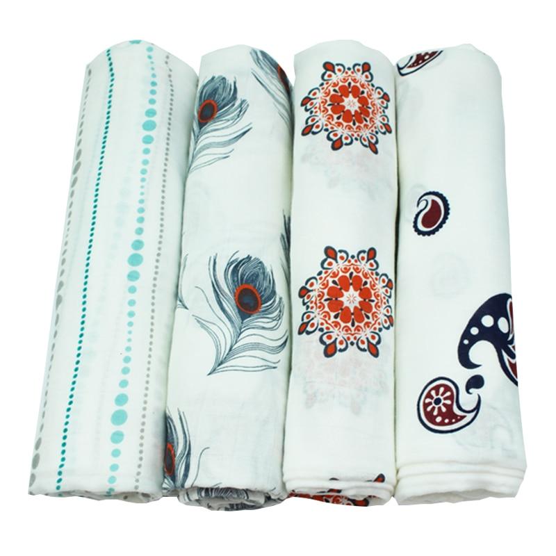 Aden Anais Multifunctional Envelopes For Newborns Receiving Blankets Bedding Infant 100mboo Fiber Swaddle Towel Baby Blanket