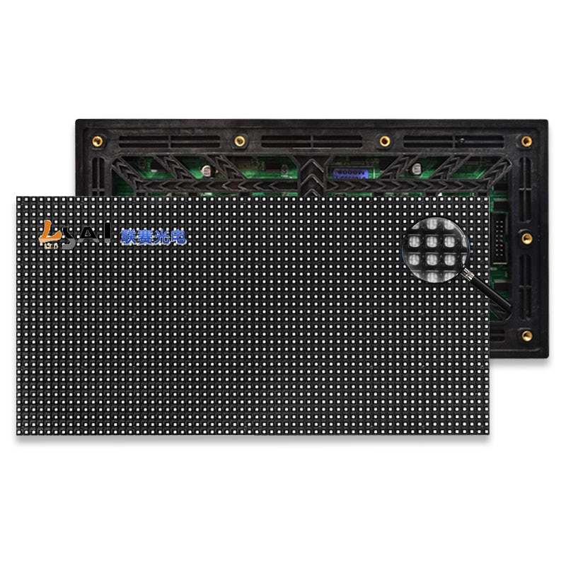 40pcs/lot  P4 LED screen panel module Outdoor 256*128mm 64*32 pixels 1/8scan 3in1 RGB SMD  Full Color LED display panel module