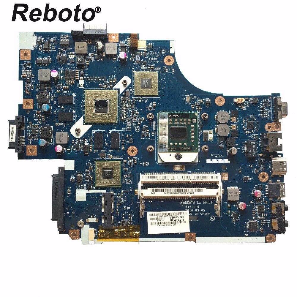 FÜR ACER 5551 5552 Laptop Motherboard Mainboard NEW75 LA-5911P MBPUU02001 HD 5650M/1GB DDR3 100% Getestet Schnelle schiff