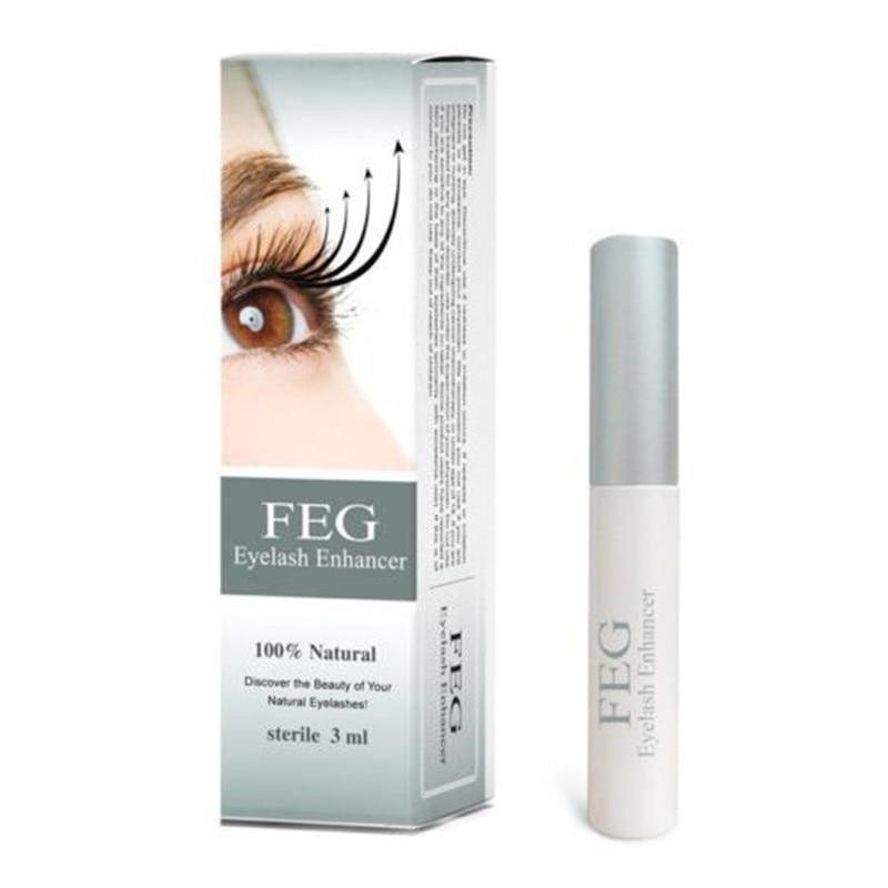 FEG, potenciador de pestañas 100%, tratamiento Original de crecimiento de pestañas, suero de medicina Natural a base de hierbas, pestañas, Máscara, alargamiento más largo