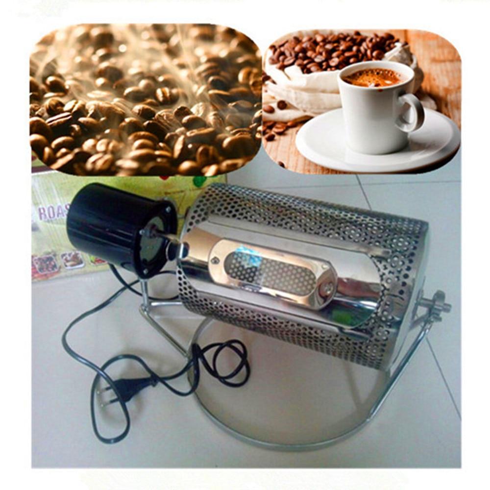 Electric Stainless Steel Coffee Roaster Machine Roasting Baking Tool DIY Equipment 110V/220V