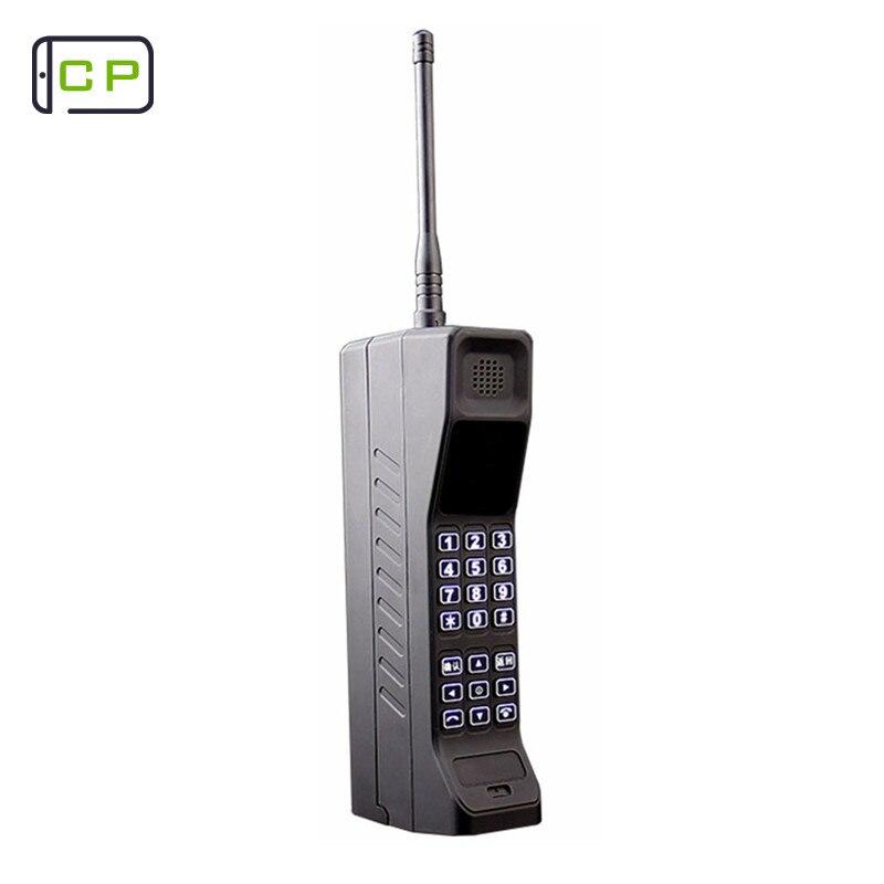 X18 clásico estilo retro GSM teléfono móvil con antena buena señal de banco de potencia extrovertido Bluetooth GPRS push-buttonTelephone