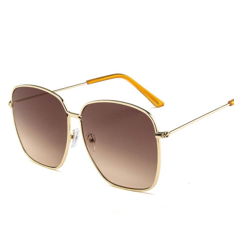 New Fashion Zonnebril Dames Vintage Frame Aviation Sunglasses Metal Circle Brand Design Outdoor Sun