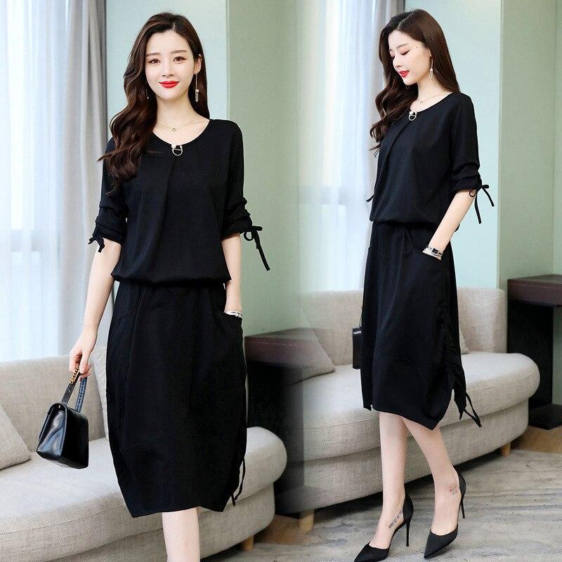 La Diosa de la primavera de 2019 van nueva de moda vestido de traje real hermana mayor temperamento de la primavera y el otoño de dos- pieza