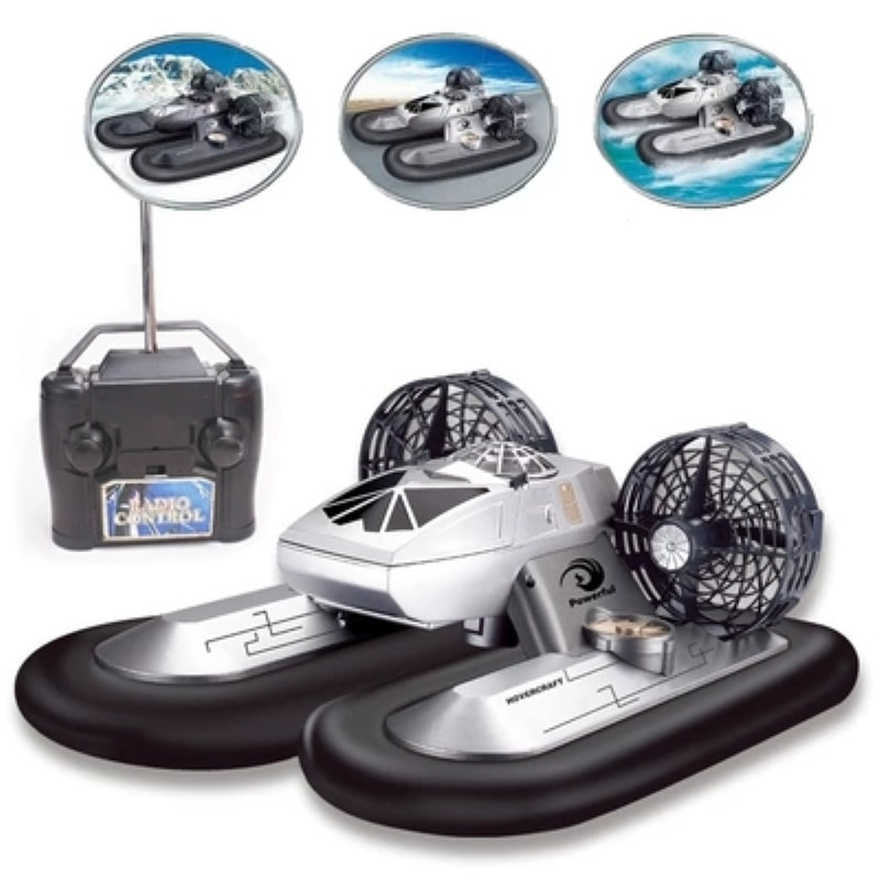 Amphibious Transport Dock Remote Control Hovercraft RC Boat Hovership 2.4G 6CH Work On Water 3pcs Battery Best Gift Toys For Kid enlarge