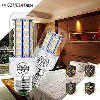 e14 led lamp 220v lampada led e27 corn light bulb 3 5w 5w 7w 9w 12w 15w 20w led candle lamp high brightness 5730 home decoration