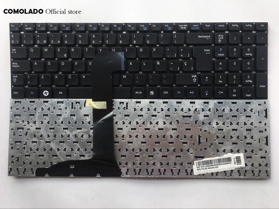 Sp Spanish Laptop Keyboard For Samsung Rf710 Rf711 Np Rf710 Blavk Keyboard Sp Layout Replacement Keyboards Aliexpress