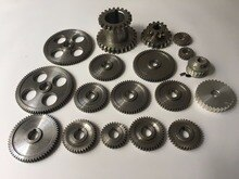 Free Shipping 18pcs/set CJ0618 Metal Gears Micro lathe gear Metal cutting machine tool gear