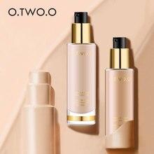O.TW O.O fond de teint mat longue durée fond de teint maquillage visage correcteur fond de teint naturellement liquide crème fond de teint cosmétique