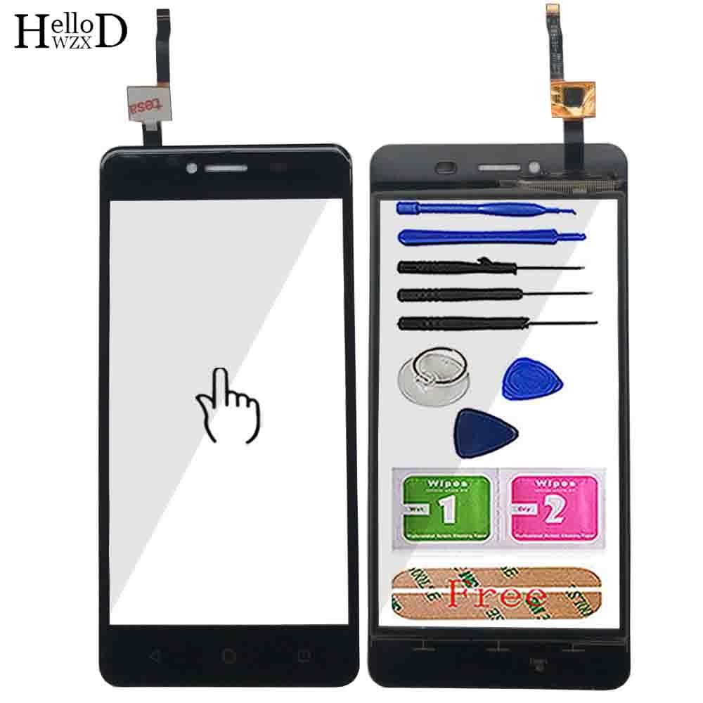 5 Sensor de Panel de pantalla táctil móvil para DEXP Ixion ML350 digitalizador de pantalla táctil de cristal frontal herramientas de pantalla táctil regalo adhesivo