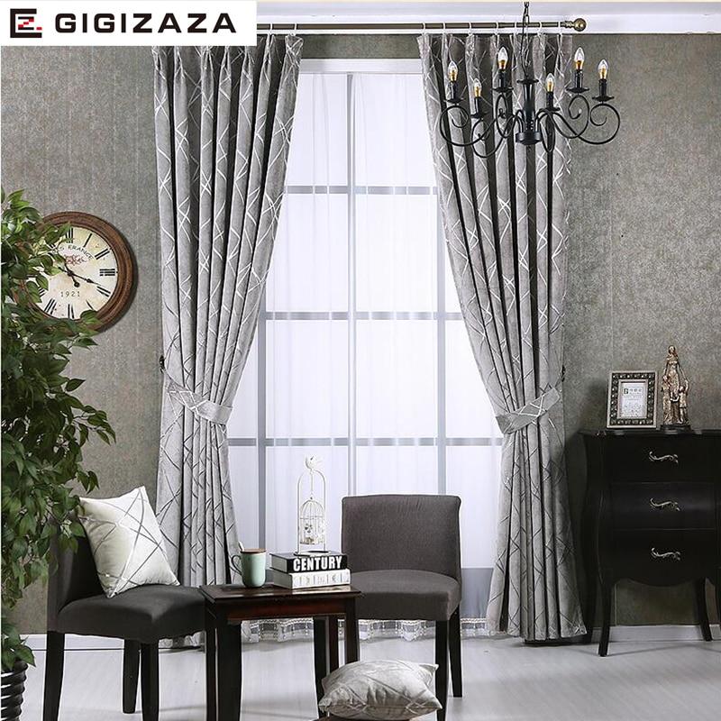 Шторы Newchenille, жаккардовая ткань, занавески для гостиной, серебристые, GIGIZAZA, черные, нестандартные размеры, тени, американский стиль для спаль...