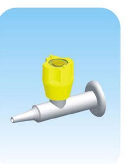 Grifo de gas de laboratorio de estilo de pared de puerto único de cobre puro K001